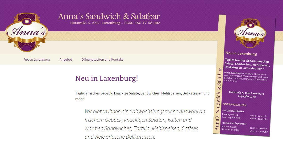Anna's Sandwich & Salatbar